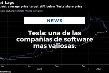 Tesla: una de las compañías de software mas valiosas