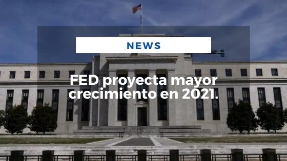 Mariano Aveledo Permuy Noticias Marzo 18 - FED proyecta mayor crecimiento en 2021