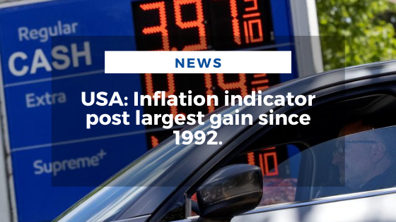 Mariano Aveledo Permuy Noticias Junio 26 - USA Inflation indicator post largest gain since 1992