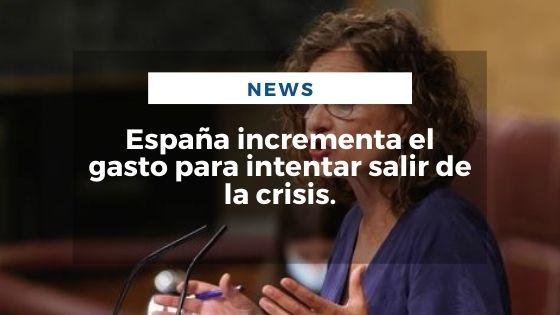 Mariano Aveledo Permuy Noticias Septiembre 15 - España incrementa el gasto para intentar salir de